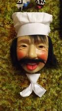 "Vtg Laffun Head,  Laughing Crazy  ""Chef"" Jobar's 1978 NOS Kitchen Decor Cook"