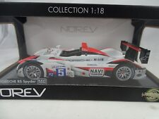 1:18 Norev #187529 Porsche Rs Spyder Navi Team Goh #5 - Rarità §