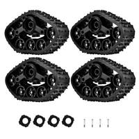 4pcs Off-Road Rubber Tyre Set for WPL B-1 / B-24 1:16 RC Crawler Military Truck