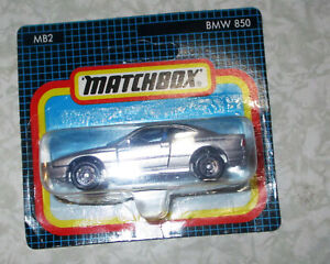Matchbox MB2 BMW 850 1993 NEW IN PACKAGING!!