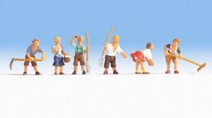H0 Echelle 1:87 Ho Figurines Modélisme Maquette Noch 15618 Mountain Farmers