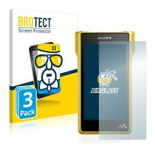 3x Sony Walkman Nw-wm1a AirGlass Glass Screen Protector Ultra Thin Film