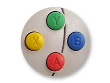 "Pin Button Badge Ø25mm 1"" Manette Pad Controller Joystick Retro Game Dreamcast"
