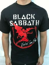 BLACK SABBATH NEVER SAY DIE! HEAVY METAL BAND T SHIRT