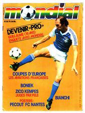 MONDIAL n°35 ¤ 1979 ¤ KEMPES/ZICO/BONIEK/BIANCHI ¤ FOOTBALL