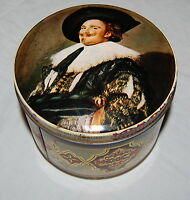 Vintage Thorne's Confectionery Candy Metal Tin Leeds England Victorian Man Box