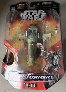 2006 Hasbro Star Wars Transformers Boba Fett Slave 1