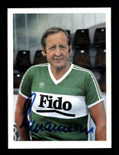 Helmut Johnasson Autogrammkarte FC St Gallen 80er Jahre Original + A 196811