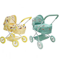 Roma Rupert Childs Dolls Pram with Basket - Suitable from 2 years+