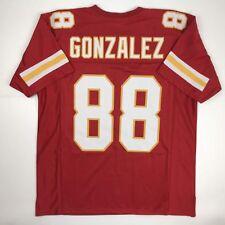 9ef123464a0 New TONY GONZALEZ Kansas City Red Custom Stitched Football Jersey Size  Men s XL