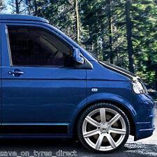 """4 Alloy Wheels Tyres 5x120 18"""" VW Volkswagen T5 T6 Transporter Van Kombi 2554518"""