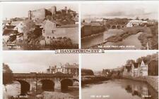 Haverfordwest Multi View unused RP pc Valentines