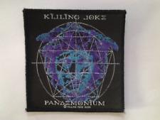 KILLING JOKE   PATCH  Original 2003  Vintage Aufnäher 9,5x10cm Industrial Metal