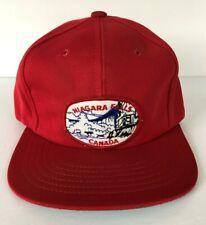 Vintage Niagara Falls Canada Trucker Hat Cap Irwin Toy Size Boys 6 3/8 to 6 7/8
