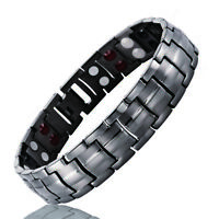 Magnetic Therapy Bracelet Negative Ion Arthritis Energy Strength Pain Relief