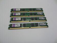 KINGSTON 8GB Kit (4x 2GB) PC2-5300 DDR2 667 Desktop Memory  Low Profile GRADE A