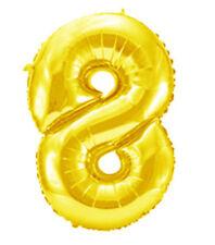 Palloncini senza marca oro numero per feste e party
