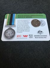 2017 Legends of the Anzacs Collection Australian Operational Medal COIN 13