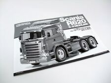 Tamiya Scania R620 Highline 1/14 Scale RC Tractor Truck Manual 56323