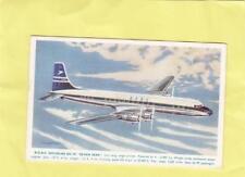 B.O.A.C.  DOUGLAS DC -7C SEVEN SEAS       ,  AEROPLANE     ( R6 )