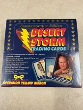 Operation Yellow Ribbon Desert Storm Trading Cards Retail Display Boxes