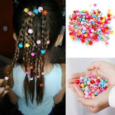 30pcs Girls Claw Hair Clips Colorful Mini Kids Hair Claw Barrette Cute Beads
