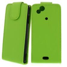 Para Sony Xperia Arc S/X12 Verde - Bolsa de Piel Sintética, Funda Móvil ,Funda,
