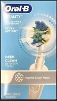 Oral-B Vitality Rechargeable Toothbrush Floss Action Deep Clean