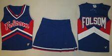 "Authentic 3 piece Cheerleader Uniform: ""Folsom"""