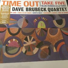 The Dave Brubeck Quartet 'Time Out' 180g Vinyl LP - Deluxe Gatefold NEW & SEALED