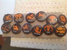 12 Buttons Dierenriem