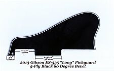 ES-335 LONG 2013 Pickguard 5-Ply Blk 60 Deg W/Mounting Block for Gibson project