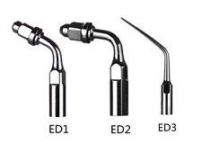 15X Dental Endo Tip ED1 ED2 ED3 mix Fit DTE SATELEC Ultrasonic Piezo Scaler