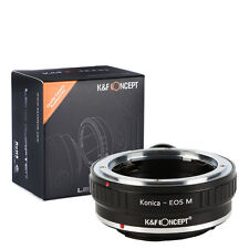 K&F Concept Adapter with tripod for Konica AR Lens to Canon EOS M3 M5 Camera