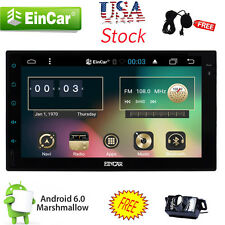 "US Stock Andriod 6.0 Double 2Din 7"" HD Car DVD Stereo GPS Radio WiFi 3G Unit CAM"