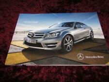 Paper Class C 2011 Car Sales Brochures