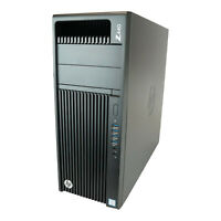HP Workstation Z440 6C E5-1650v3 @3,5GHz 8GB RAM 500GB + 1TB HDD Quadro K2200