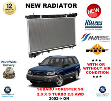 FOR SUBARU FORESTER SG RADIATOR 2002>ON 2.0 X S TURBO 2.5 AWD ** OE QUALITY **