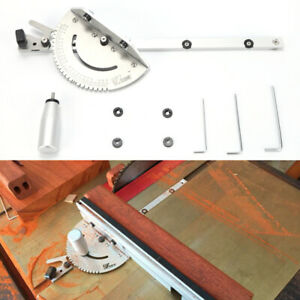"""Miter Gauge Woodworking for Table Saw/Router Sawing Accessories 3/8""""of 3/4"""""""