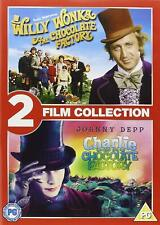 Willy Wonka And The Chocolate Factory / Charlie And The Chocolate Factory (DVD)