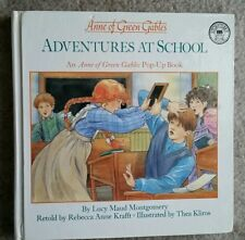 ANNE OF GREEN GABLES ~ ADVENTURES AT SCHOOL ~ POP-UP BOOK 1993