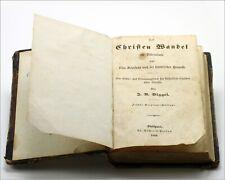 "Antique 1846 Biggel - ""Prayer Book for Katholische Christen"" Stuttgart, Germany"