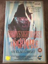 FREDDY'S NIGHTMARES 1 - A NIGHTMARE ON ELM STREET THE SERIES VHS VIDEO Ex Rental