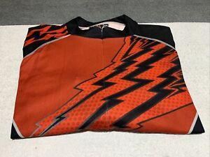 Mens Primal 2XL Red Black Bike Jersey