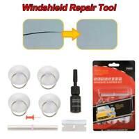 8x Car Auto Glass Repair Tools Crack Chip Scratch Winshield Set Corrector Tool~