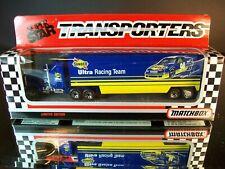 Terry Labonte #94 Ultra Sunoco 1992 1:87 Racing Team Transporter Matchbox