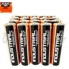 20 Duracell AAA batteries Industrial Procell Alkaline LR03 MN2400 1.5V