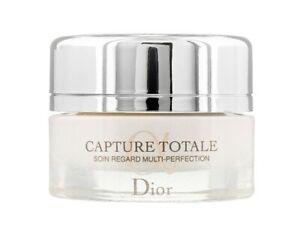 Dior Capture Totale Eye Cream Multi Perfection Eye Treatment 15ml - Brand New