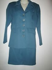 Women's Vintage Bella More 2 piece skirt and Jacket Business Career Suit