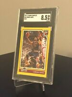 2016-17 Panini Complete 46 LeBron James Gold Rare SP SGC 8.5 Cleveland Cavaliers